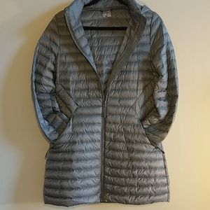 32 Degrees Lightweight Grey Quilted Down Jacket